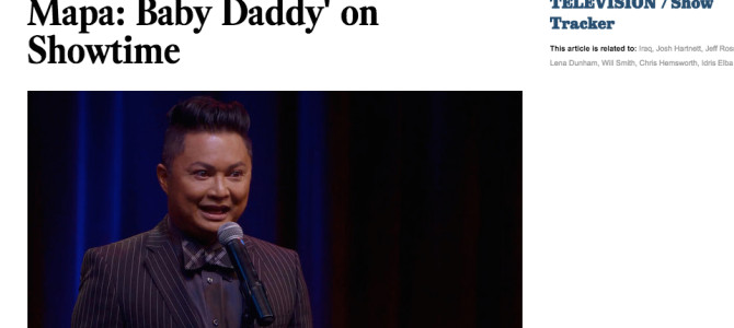 LA Times: Friday's TV Highlights: 'Alec Mapa: Baby Daddy' on Showtime